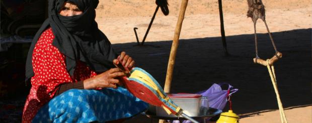 merzouga tuareg