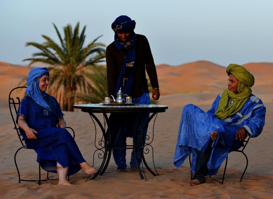 Equipo Tuareg-Travel Guías Tuaregs