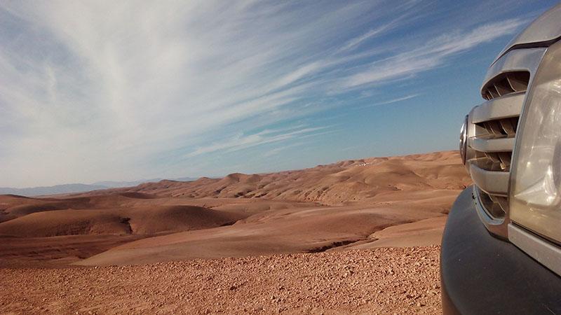 desierto de Agafay