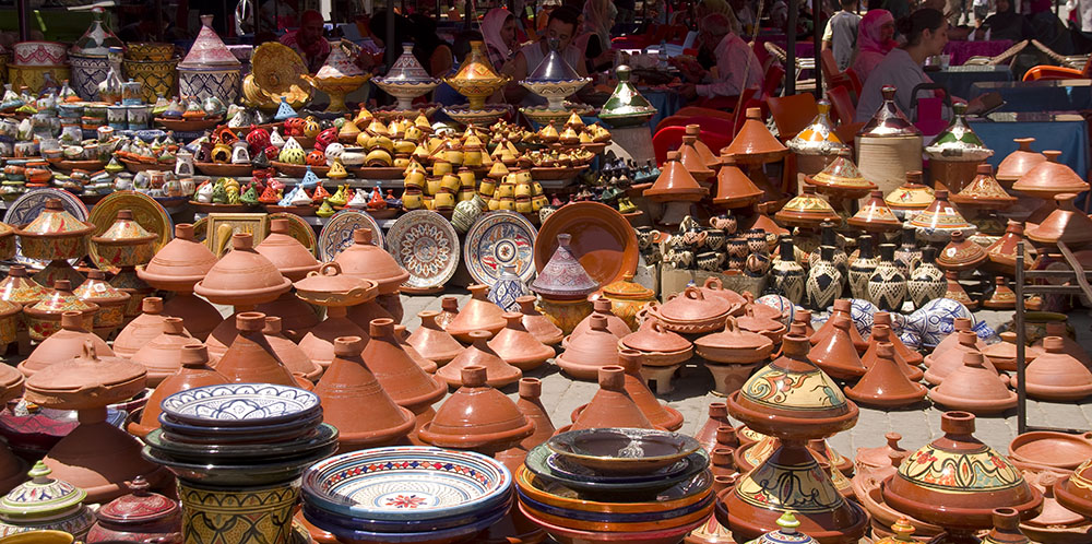 cerámica de marruecos