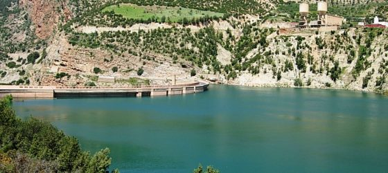 el lago bin el ouidane